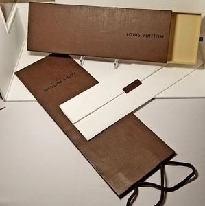 Louis Vuitton Scarf Bandeau écharpe Box